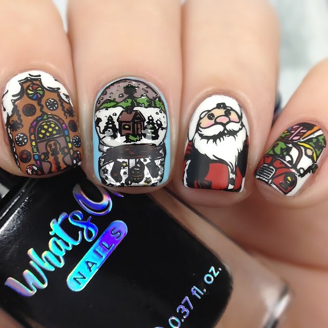 What's Up Nails-B065 Winter Flurryland