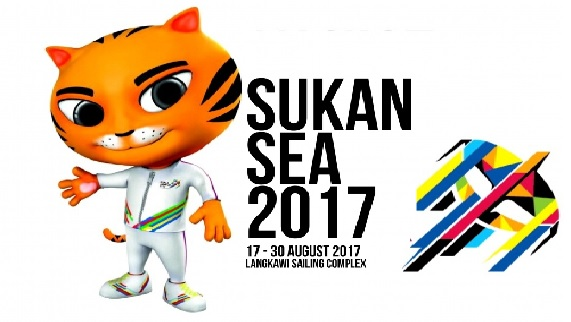 carta pungutan Pingat terkini Sukan SEA 2017