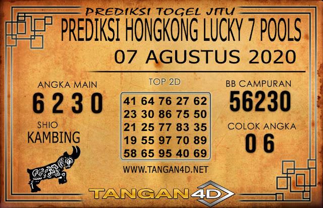 PREDIKSI TOGEL HONGKONG LUCKY 7 TANGAN4D 06 AGUSTUS 2020