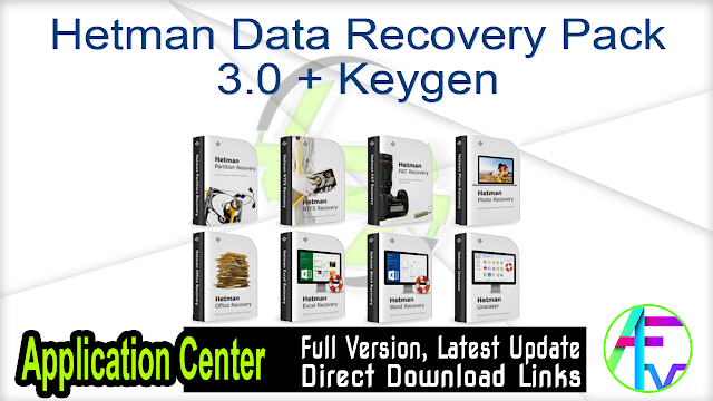 Hetman Data Recovery Pack 3.0 + Keygen