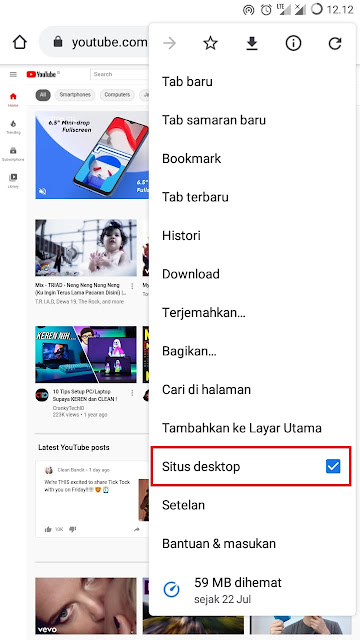 Situs Desktop Google Chrome