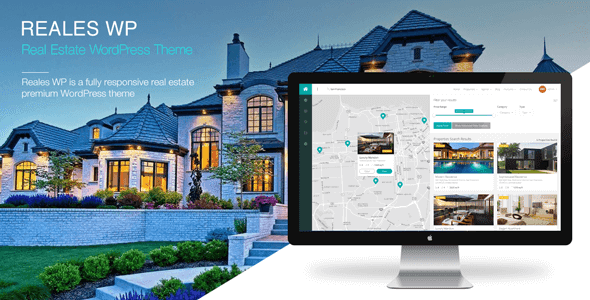 Free Download Reales Real Estate WordPress Theme