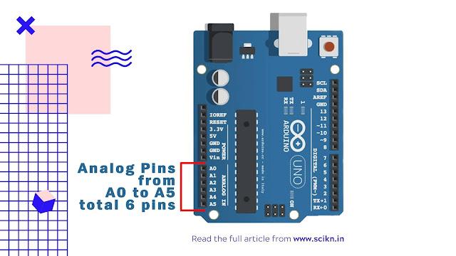 Analog pin of Arduino UNO