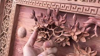 tranh gỗ gõ đỏ 4