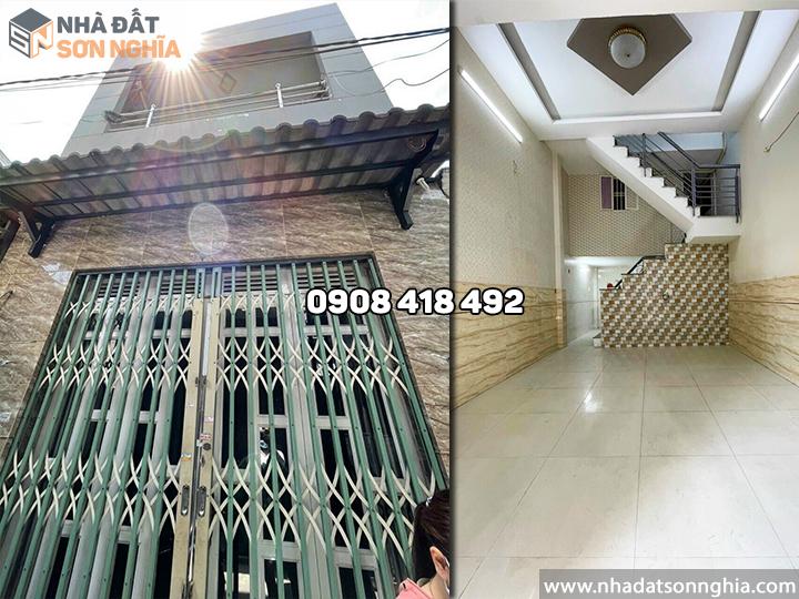 Bán nhà Gò Vấp hẻm 237 Phạm Văn Chiêu phường 14 MS082