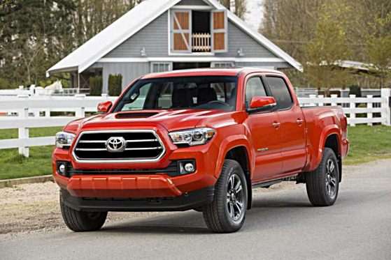 Toyota Tacoma Redesign 2017