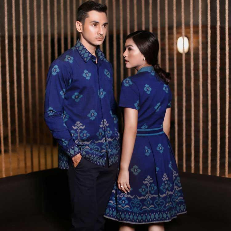 10 Koleksi Model Baju Batik Couple Terbaru Paling Modis 2019 Jual