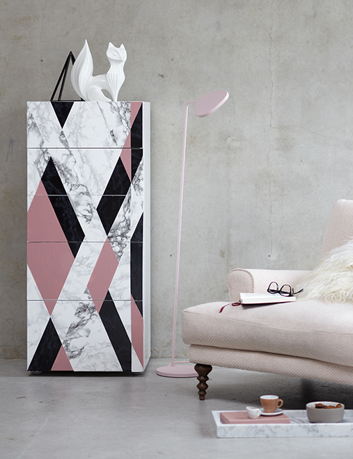 Mármol y colores pastel, un contraste que funciona | Ministry of Deco