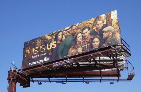 This is Us season 3 billboard