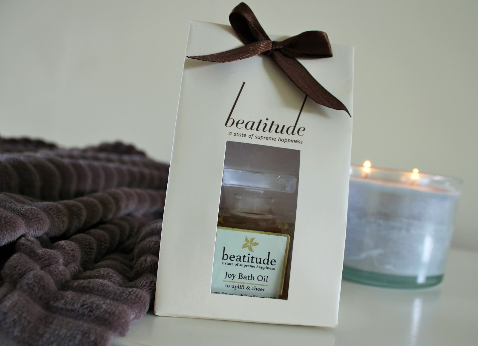 Review of Joy Bath Oil by Beatitude Products - 1