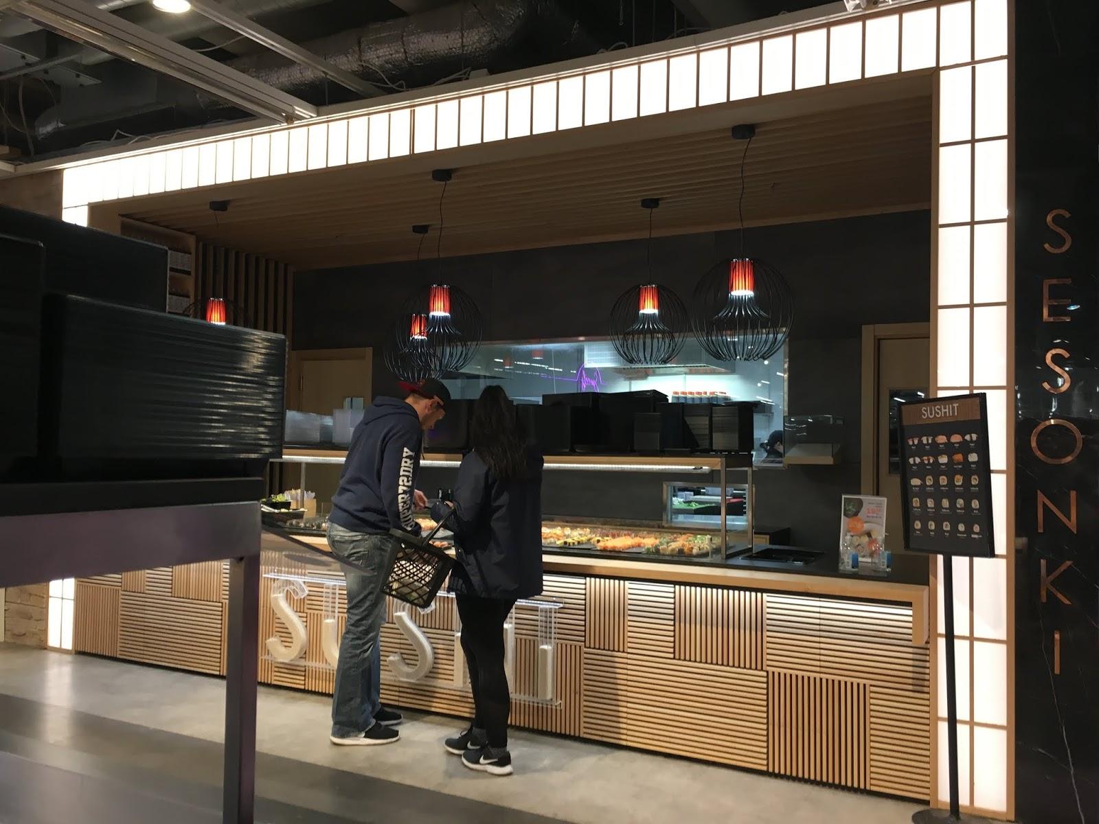 Järvenpään Citymarket sushi
