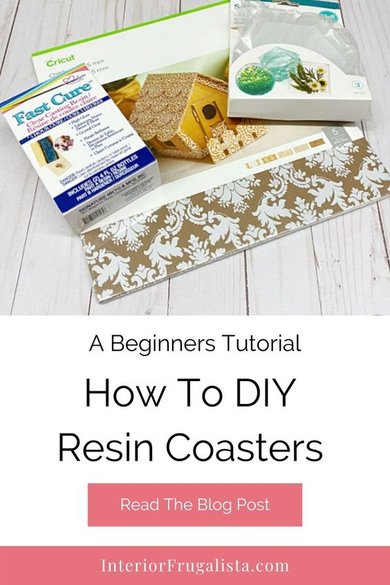 Have you always wanted to try a resin craft but was a bit nervous? I will show you how easy it is to use resin and make your very own coasters. #resin #coasters #diy #crafts #handmade