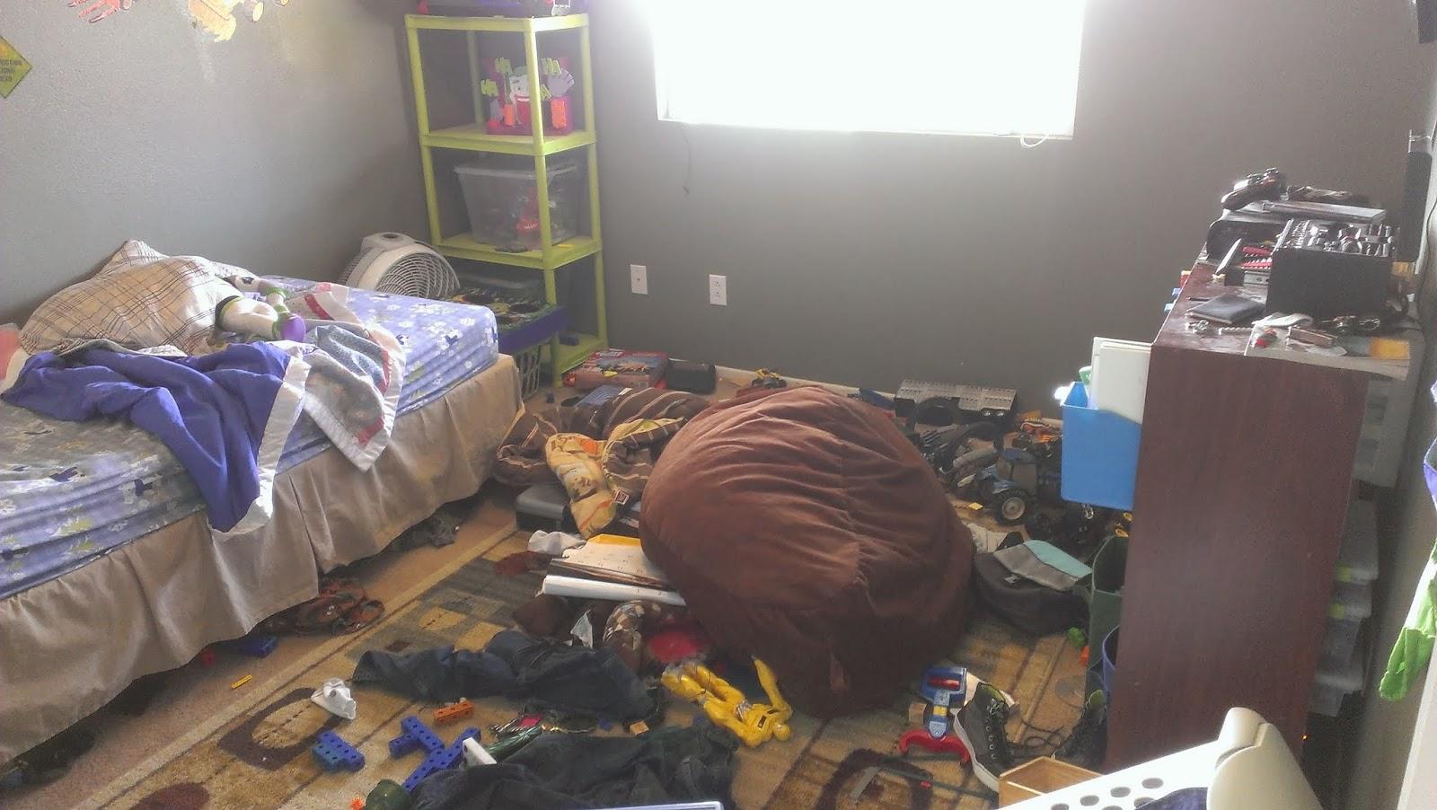 Reorganizing Room: BRYCE'S ROOM REORGANIZATION