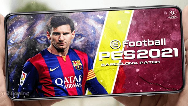 PES 2021 Mobile Patch V5.5.0 Android Best Graphics New Menu Full Original Logo and Kits 21/22 Update