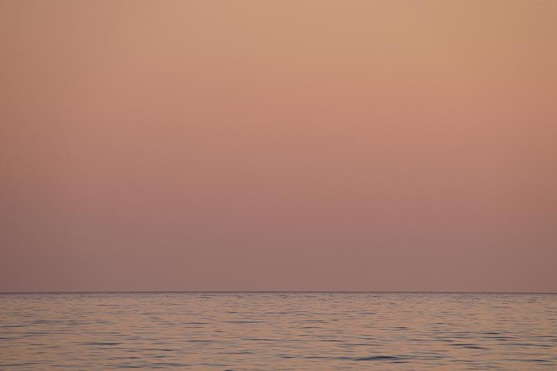 Sonnenuntergang in Kroatien im Sommer am Meer // Croatia summer sea sunset