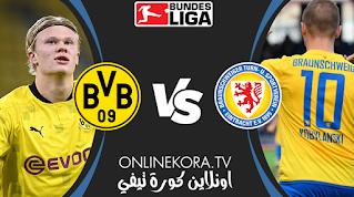 مشاهدة مباراة آينتراخت براونشفايغ وبوروسيا دورتموند بث مباشر اليوم 22-12-2020 في كأس ألمانيا