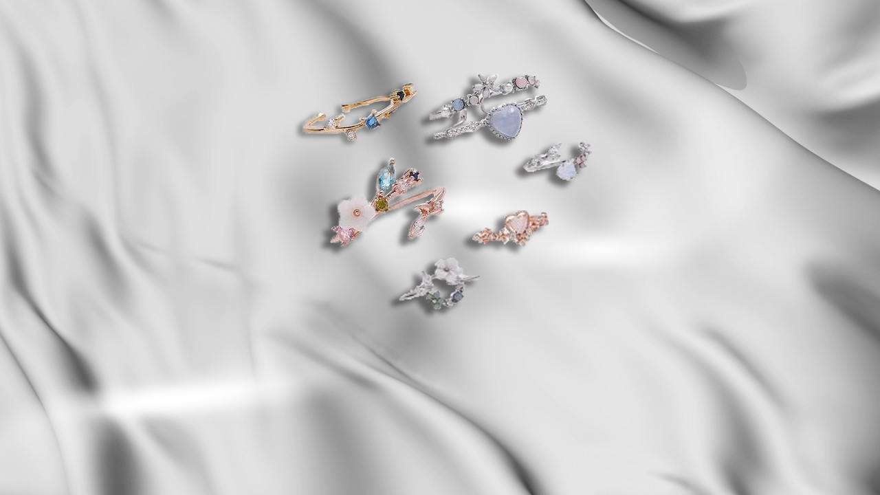 Affordable stacking rings that go with everything