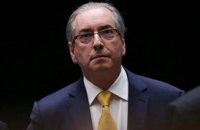 Eduardo Cunha, fez exame de corpo de delito por volta das 10h desta quinta-feira (20) no Instituto Médico-Legal (IML) em Curitiba