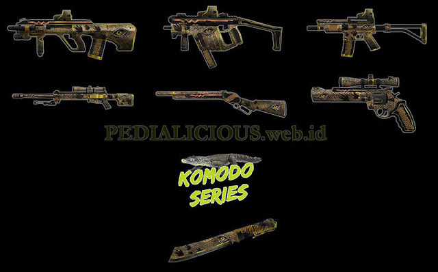Komodo Series Point Blank Indonesia