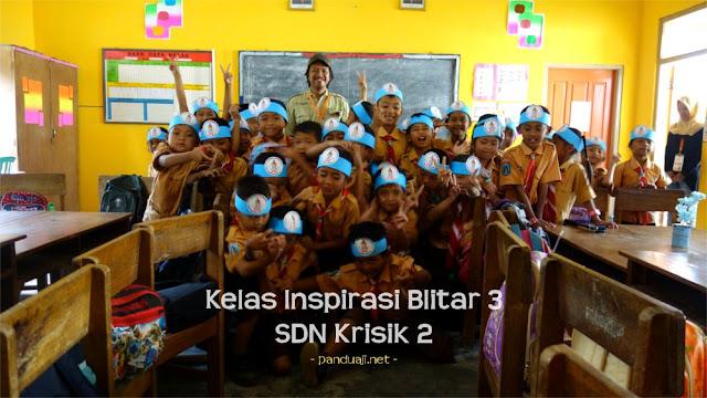 Kelas Inspirasi Blitar 3 di SDN Krisik 2