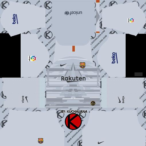 online store 70a94 28f12 F.C. Barcelona 2019/2020 Nike Kit - Dream League Soccer Kits ...