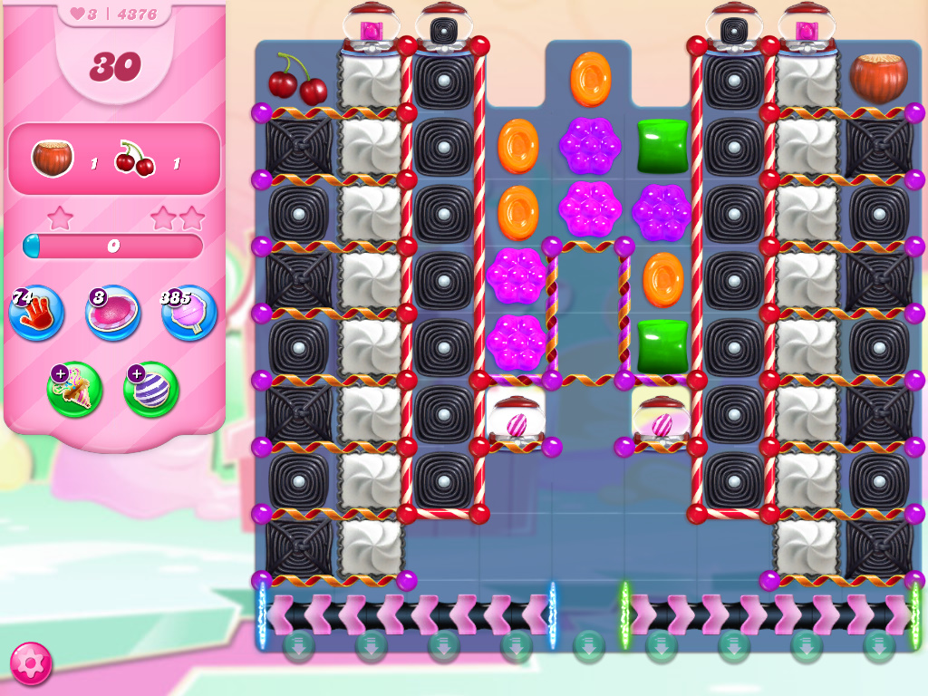 Candy Crush Saga level 4376