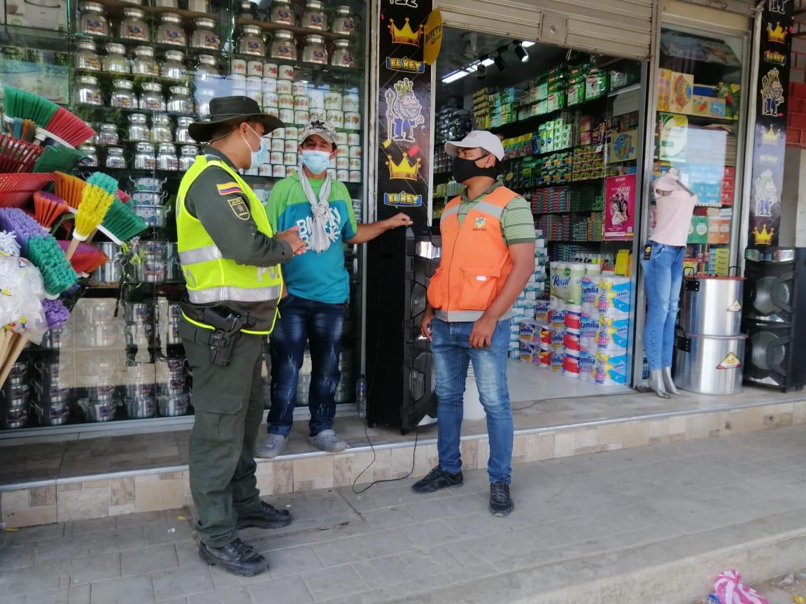 https://www.notasrosas.com/Distrito Especial de Policía Uribia y Secretaria de Movilidad, trabajan para preservar la fauna y la flora en esa localidad
