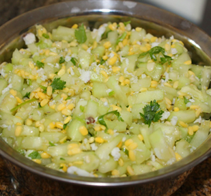 Moong dal Kosambari Recipe for Rama Navami