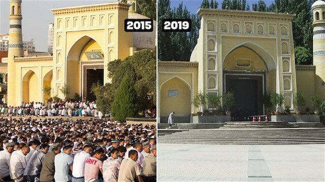 Sepinya Masjid Id Kah Xinjiang, Masjid Terbesar di China