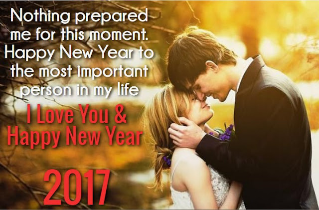 Happy New Year 2017 Romantic image & WallpaperFor Boyfriend and Girlfriend