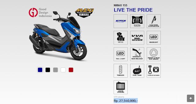 Keunggulan serta kelebihan Yamaha Nmax