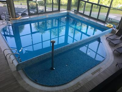 Hotel Diament w Ustroniu, basen kryty