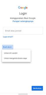 Cara Membuat Email Baru Di Hp Yang Sudah Ada Emailnya