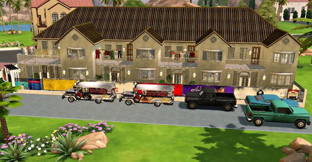 Sims 4 Pinoy Stuff Pack Pinoy Townhouse