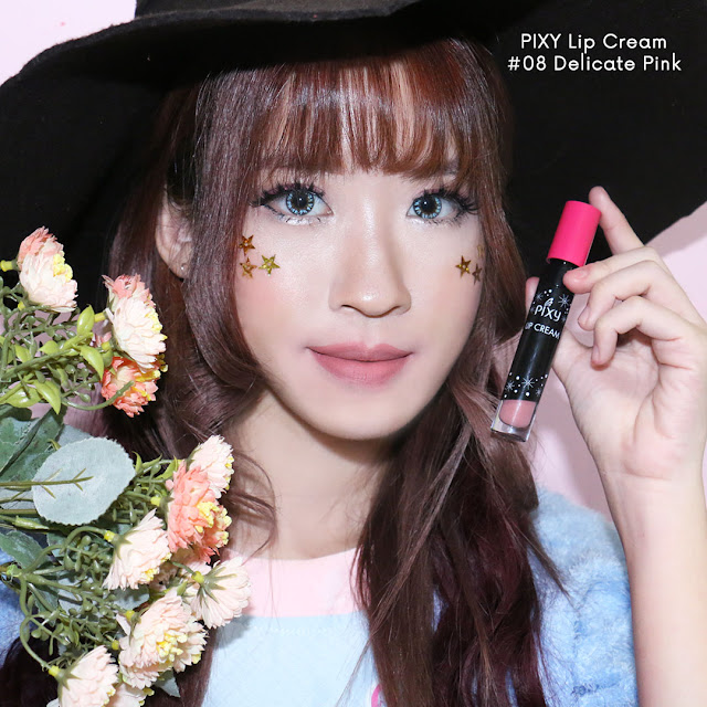 PIXY LIP CREAM DELICATED PINK #08 review
