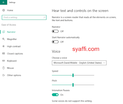28. Ease of access windows 10 syaffi com