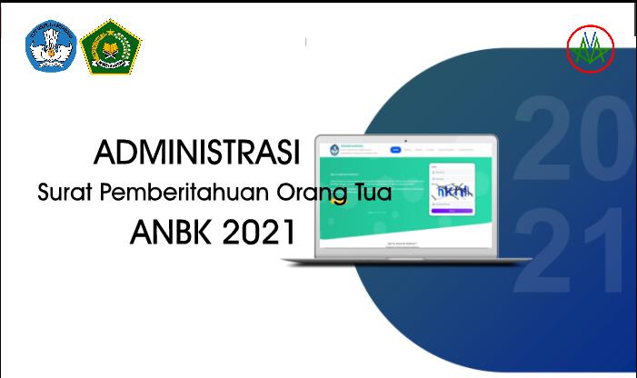 Format Surat Pemberitahuan Orang Tua Peserta Didik - ANBK 2021