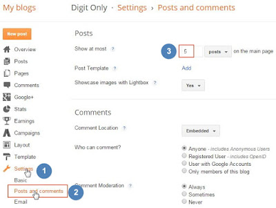blogger solution widget seo best blog alexa
