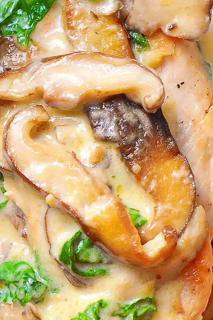 ★★★★★ 4766 Ratings : CREAMY SPINACH AND MUSHROOM CHICKEN #Instantpot #Bangbang #Shrimp #Pasta #vegan #Vegetables #Vegetablessoup #Easydinner #Healthydinner #Dessert #Choco #Keto #Cookies #Cherry #World #foodoftheworld #pasta #pastarecipes #dinner #dinnerideas #dinnerrecipes #Healthyrecipe #Pastarecipe #Pizzarecipe