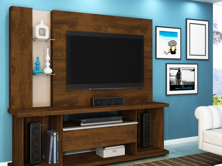 desain rak tv mewah