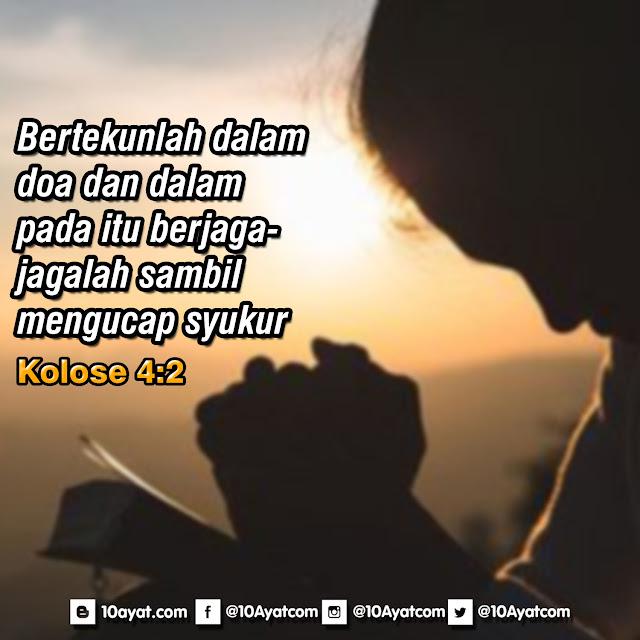 Kolose 4:2