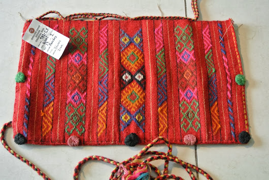 Our auction news for week of Oct 13, 2013 Hand made bags made of carpets