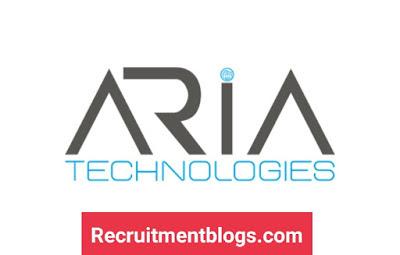 Junior Mechanical Design Engineer At ARIA Technologies