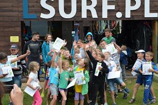 LSURF półkolonie windsurfing