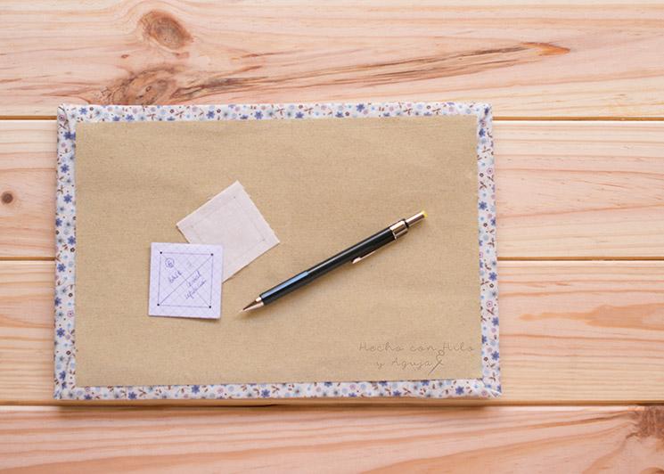 base para patchwork y tabla de plancha mini
