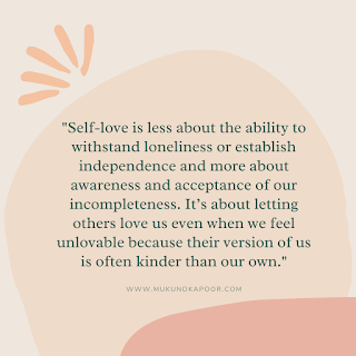 quotes to love yourself
