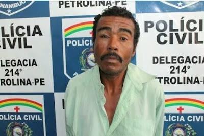 Homem que estuprou e matou garoto de 9 anos pratica o mesmo crime na penitenciária de Petrolina - PE