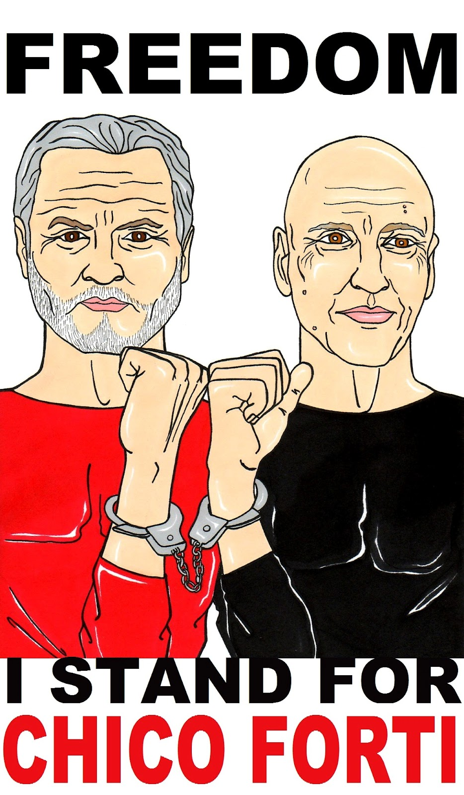 Humor Chic Exclusive Report Chico Forti An Italian Who Received A Life Sentence For Investigating The Murder Of Gianni Versace Is The Seven