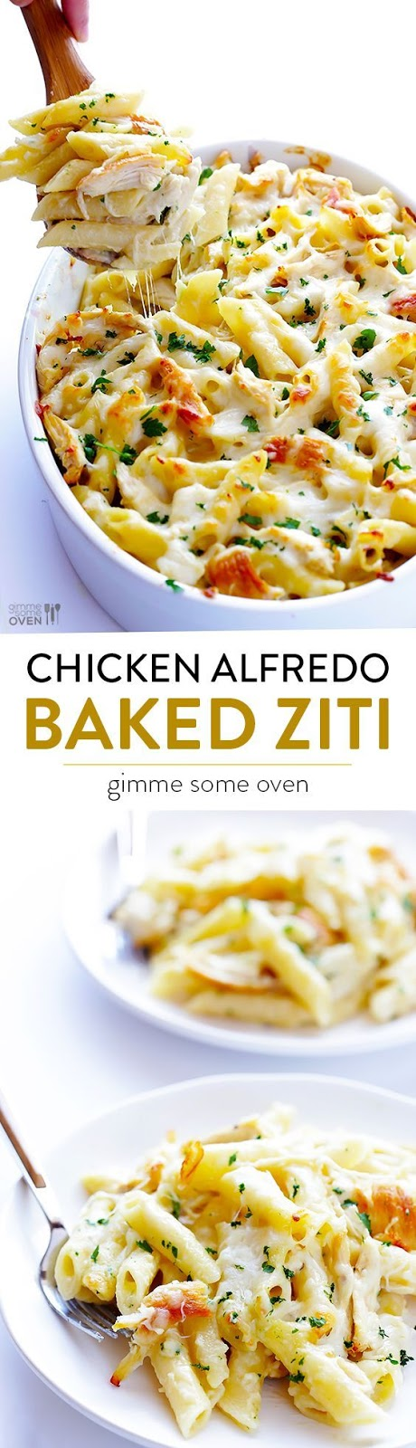 ★★★★☆ 7561 ratings | CHICKEN ALFREDO BAKED ZITI #HEALTHYFOOD #EASYRECIPES #DINNER #LAUCH #DELICIOUS #EASY #HOLIDAYS #RECIPE #CHICKEN #ALFREDO #BAKED #ZITI