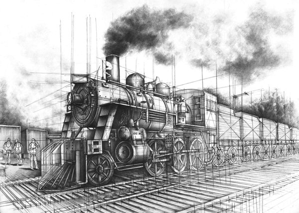 06-Siberian-Railway-Marlena-Kostrzewska-Interior-Design-and-Architecture-in-Pencil-Drawings-www-designstack-co